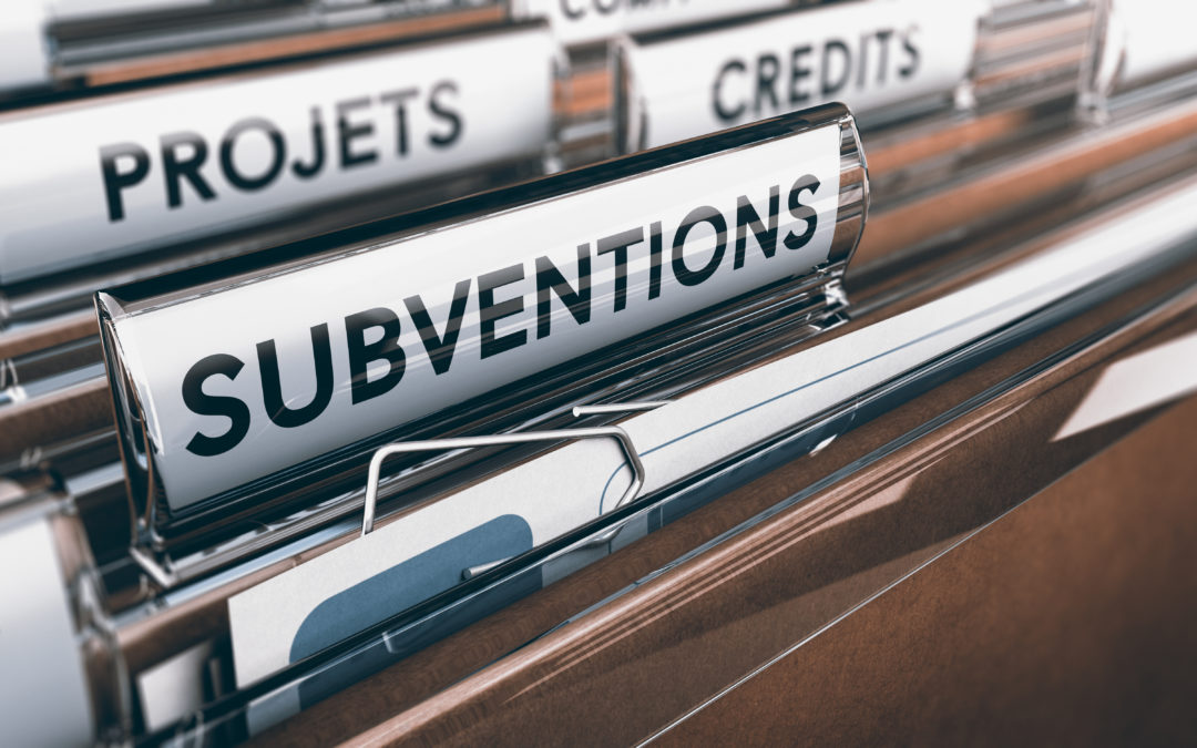 Demandes de subventions associatives