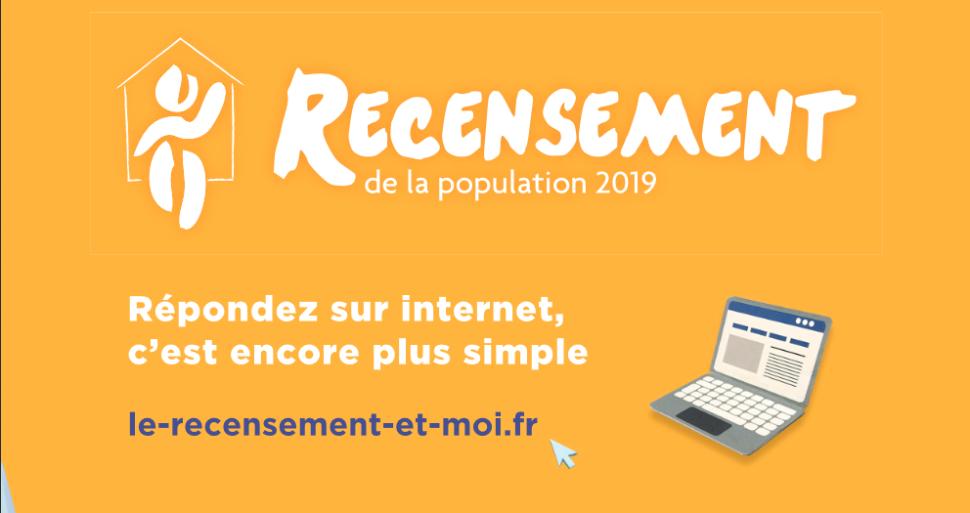 Recensement de la population 2019